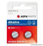 AgfaPhoto AG5 1,5V-os gombelem, alkáli LR48, 10 db / csomag