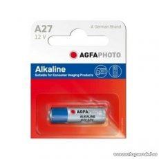 AgfaPhoto AF LR27A Tartós 9V-os elem, A 27 Alkaline, 5 db / csomag