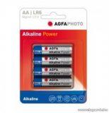 AgfaPhoto AF LR6 alkáli AA ceruza elem, 4 db / csomag