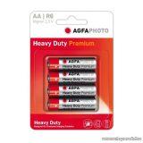 AgfaPhoto AF R6 féltartó AA ceruza elem, 4 db / csomag