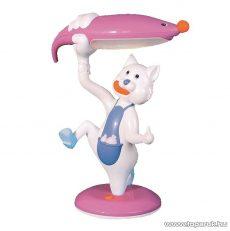 Horoz HL045 PINK Asztali lámpa, pink (rózsaszín), kacsa design