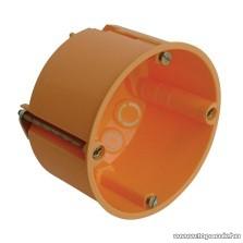 HOME 5202H Gipszkarton doboz, 60 mm mély, narancssárga