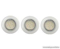 GAO 8355H Süllyesztett szpot szett, fehér, GU 10 foglalat, 2 W, 30 LED, 150 lm