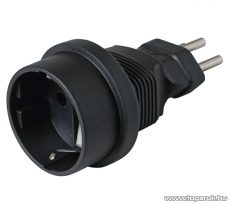 HOME AC 02/CH Földelt utazó adapter (GS - CH átalakító)
