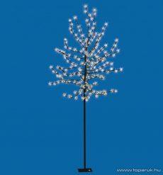 HOME CBT 180 Kültéri LED-es virágzó cseresznyefa dekoráció, 180 db hidegfehér LED-del