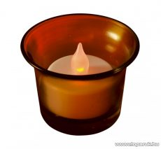 HOME CDG 1/OR Beltéri elemes LED teamécses, narancssárga tartóval