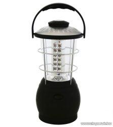 HOME CL 36L Dinamós kempinglámpa, 36 LED-es