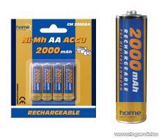 HOME CM 2000AA 2000 mA Ni-Mh ceruzaakkumulátor (AA), 4 db / csomag