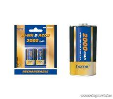 HOME CM 2000D 2000 mAh Ni-MH góliát akkumulátor, 2 db / csomag - megszűnt termék: 2016. április