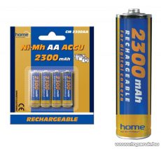 HOME CM 2300AA 2300 mA Ni-Mh ceruzaakkumulátor (AA), 4 db / csomag - megszűnt termék: 2017. június