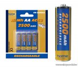 HOME CM 2500AA 2500 mA Ni-Mh ceruzaakkumulátor (AA), 4 db / csomag