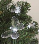 HOME DECO 3 Dekorációs szett izzósorhoz, pillangó, 5 mm-es LED-re, 20 db / csomag