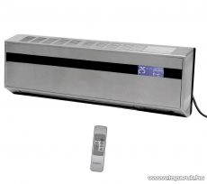 HOME FKF 2500 LCD PTC fali fűtőtest LCD kijelzővel, 2500 W