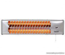 HOME FK 22 Kvarccsöves fűtőtest, fém házas hősugárzó, 1200 W - készlethiány