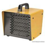 HOME FK 30 Hordozható ventilátoros fém házas PTC fűtőtest , hősugárzó, sárga, 2000 W
