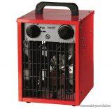HOME FK 31 Hordozható ventilátoros fűtőtest, hősugárzó, piros, 2000 W