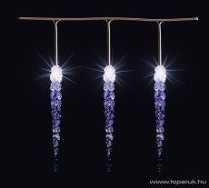 HOME G 4150 Kültéri LED-es jégcsap fényfüzér dekoráció, 50 db fehér LED-del - megszűnt termék: 2015. szeptember