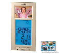 HOME HCK 01 Időjárás állomás digitális képkerettel - készlethiány