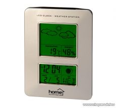 HOME HCW 13 Időjárás állomás, asztali, RC funkció - megszűnt termék: 2015. november
