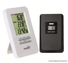 HOME HC 11 Vezeték nélküli külső, belső hőmérő, ébresztőórával