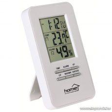 HOME HC 13 Hőmérő és páratartalom mérő, ébresztőórával