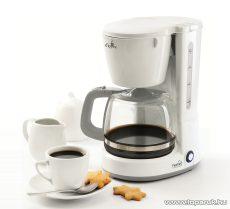 HOME HG KV 06 Kávéfőző, 8 csészés, fehér, 800W