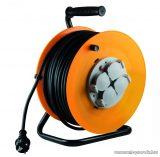 HOME HJR 10-50 Kábeldob, 50 m gumírozott vezetékkel