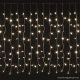 HOME KAF 100 Kültéri hagyományos izzós fényfüggöny, 100 izzó, meleg fehér