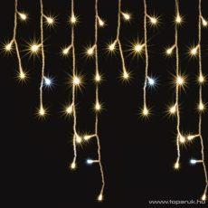 HOME KAF 300L 5M Kültéri LED-es sziporkázó fényfüggöny, 300 db meleg fehér színű LED-del, 5 méter széles