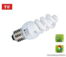 HOME KFS 9/27H Kompakt fénycső, spirál, 9 W, E 27, 2700 K