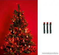 HOME KI 100 LED/R Beltéri LED-es fényfüzér, 100 db LED, 8 m hosszú, piros fényű