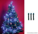 HOME KI 50 LED/BL Beltéri LED-es fényfüzér, 50 db LED, 4 m hosszú, kék fényű