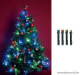 HOME KI 50 LED/M Beltéri LED-es fényfüzér, 50 db LED, 4 m hosszú, multi (színes) fényű