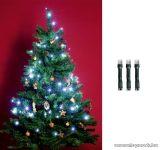 HOME KI 50 LED/WH Beltéri LED-es fényfüzér, 50 db LED, 4 m hosszú, hideg fehér fényű