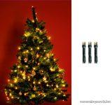 HOME KI 50 LED/WW Beltéri LED-es fényfüzér, 50 db LED, 4 m hosszú, meleg fehér fényű