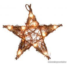 HOME KID 103/R Rattan világító csillag
