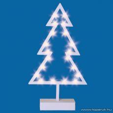 HOME KAD 14 Beltéri LED-es asztali dísz, karácsonyfa dekoráció, melegfehér