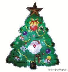HOME KID 304 LED-es ablakdísz, karácsonyfa