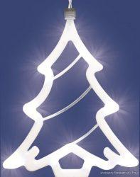 HOME KID 402 LED-es ablakdísz, karácsonyfa - készlethiány
