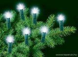 HOME KIF 20 Hagyományos izzós fényfüzér, 20 db fehér izzóval