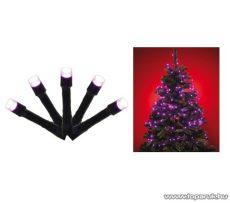 HOME KIL 248/P Beltéri LED-es programozható fényfüzér, 240 db pink (rózsaszínű) LED