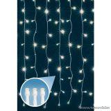 HOME KIN 84C/WH Beltéri LED-es fényfüggöny, 84 db hideg fehér színű LED-del