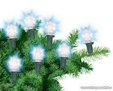 HOME KIRF 12F Fenyőfa izzós fényfüzér, 12 izzó, fehér - készlethiány