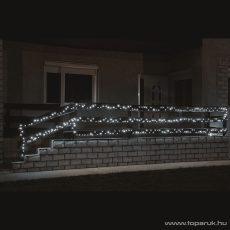HOME KKL 1000/WH Kültéri LED-es fényfüzér, 70 m hosszú, 1000 db hideg fehér fényű LED-del, állófényű