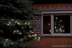 HOME KKL 108/WW Kültéri LED-es fényfüzér, 100 db melegfehér LED-del, 7 m hosszú - megszűnt termék: 2015. október