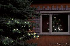 HOME KKL 208/WW Kültéri LED-es fényfüzér, 200 db melegfehér LED-del, 14 m hosszú - megszűnt termék: 2016. október