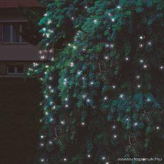 HOME KTH 240/WH 3x3 Kültéri sorolható LED-es fényháló, 300 x 300 cm, 240 db hidegfehér LED-del