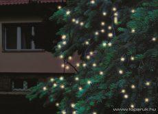HOME KTI 100/WW Kültéri sorolható fényfüzér, 100 db melegfehér LED-del, 10 m hosszú