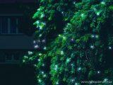 HOME KTI 40/WH Kültéri sorolható LED-es fényfüzér, 40 db hidegfehér LED-del, 4 m hosszú