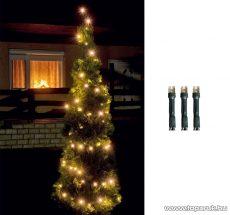 HOME LED 208/WW Kültéri LED-es fényfüzér, 14 m hosszú, 200 db meleg fehér fényű LED-del, 8 programos, memóriás